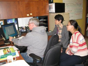 CAWT hosted scholars from China Agriculture University