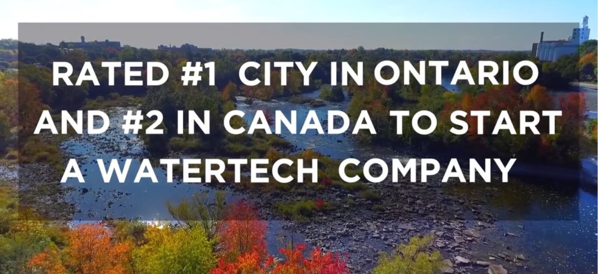 Peterborough Named #2 in Canada for Best WaterTech Startup Location