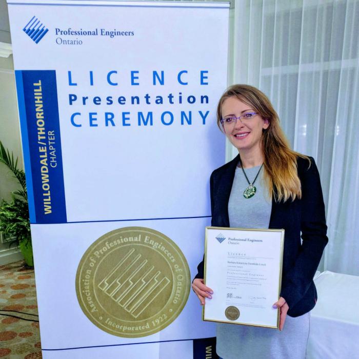 Congratulations Dr. Siembida-Losch!